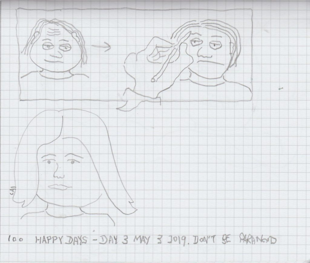 100 Happy Days Challenge Day 3 Art Mater